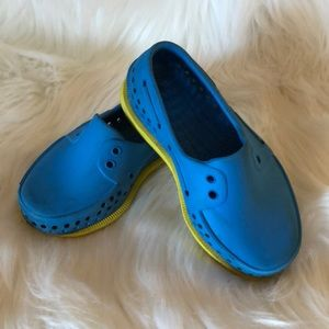 Native Howard Shoes in Blue & Yellow